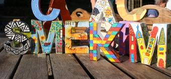 Buchstaben - bunt wie unsere Bilder, Foto von Cordula Kerlikowski