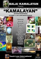 """Ausstellungsplakat """"Kamalayan"""" Baguio City"""