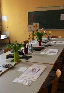 Arbeitsplatz in der Volkshochschule, Foto (c) Cordula Kerlikowski